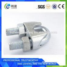 Galv. Abrazadera de clip de cable de alambre maleable tipo B