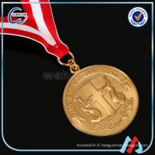 Collier de médailles gravées st christopher
