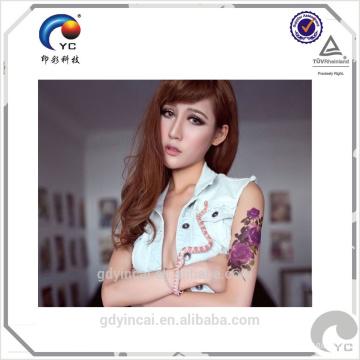 Tatuagem personalizada de alta qualidade com melhor preço