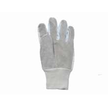 Cow Split Leather Knit Wrist Full Leather Work Glove