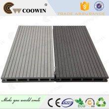 Waterproof latest wood plastic crack-resistant wpc decking(outdoor use)