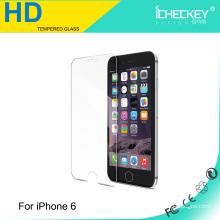 Bonne qualité pour le verre trempé d'Iphone 6, marque d'Icheckey pour le protecteur d'écran de verre trempé d'Iphone 6