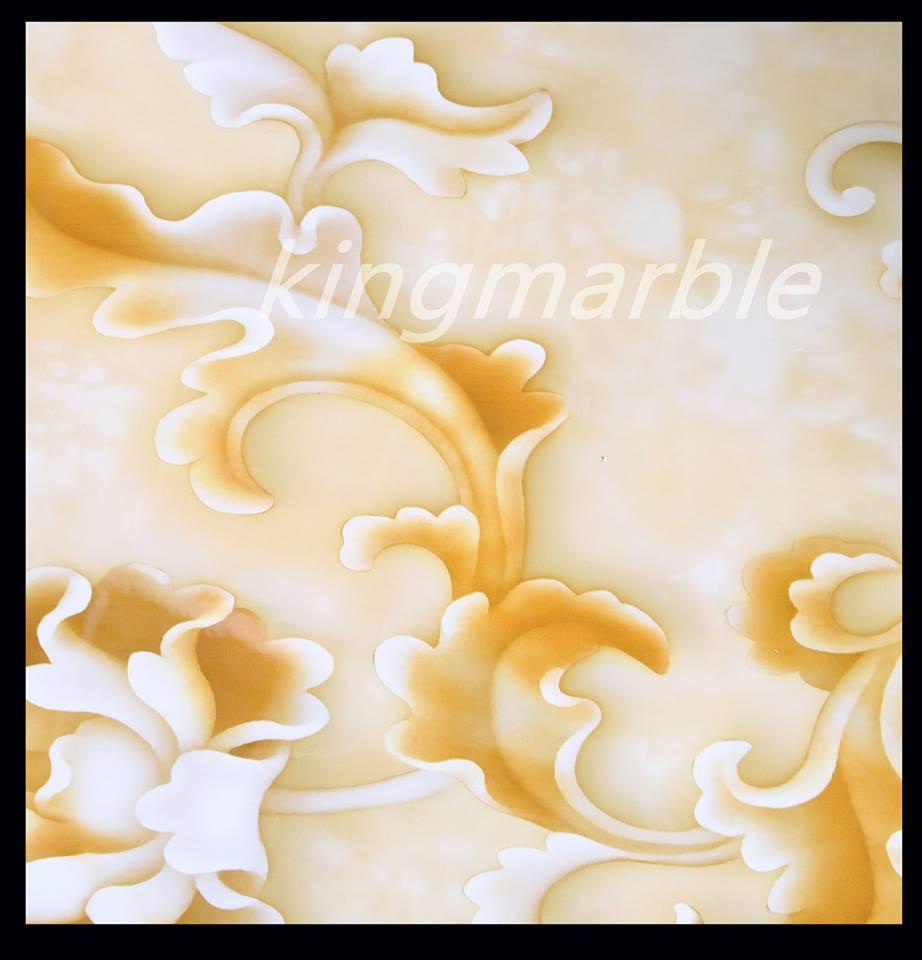 China 3D Marble Imitation PVC wall sheet for bathroom decoration ...