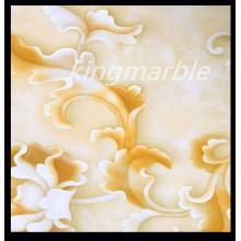 PVC Faux Mármol Hoja / Panel de Pared / Decoración Interior