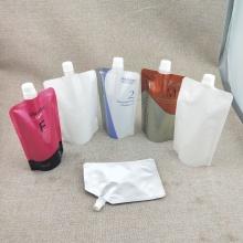 Sac de buse en plastique supérieur de bec de scellage réutilisable de taille personnalisée