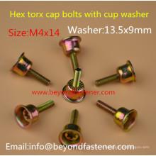 Boulons spéciaux M4X14