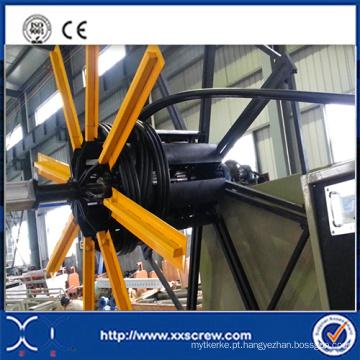 Máquina da extrusora do Tritube do HDPE do CE