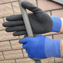 Nylon Gloves Latex Foam Dipped Gloves Safety Work Glove OEM