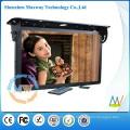 soutenir le réseau WiFi ou 3G 21,5 pouces LCD publicité voiture cadre photo numérique