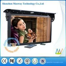 publicidade de negócios de monitor LCD de 21,5 polegadas em carros