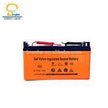 bateria contra-roubo inteiramente selada 12v 250ah 100AH 120AH do gel do armazenamento do parafuso