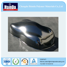 High Gloss Mirror Effect Chrome Powder Coating for Wheel Rims