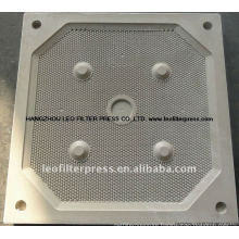 Leo Filter Press Different Spare Filter Plate Size Chamber Filter Press