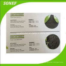 Engrais organique aux acides aminés à l'acide humique