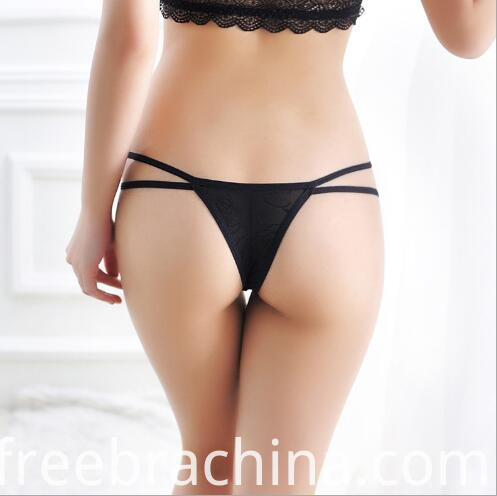 women back lace t panty