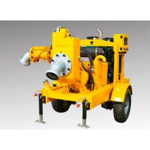 Movable Diesel Engine Seco Self Priming Água Bomba