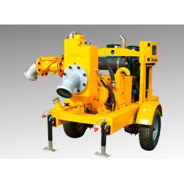 Bewegliche Dieselmotor Trockene Selbstansaugende Wasserpumpe
