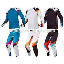 2018 new model motocross gear fox motorcycle long sleeve jersey and pants set
