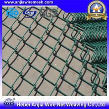 Galvanzied de alambre de hierro de malla de acoplamiento de la cadena de paneles para la construcción