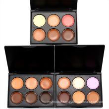OEM Custom concealer blusher cream foundation palette