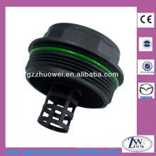 Venta caliente Mazda Partes tapa del filtro de aceite, tapa del filtro de aceite para Mazda3 / 5/6 CX-7 LF01-14-320A
