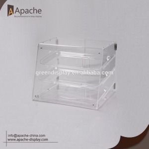 Acrylic Bakery Store Bread&Cake Counter Display Stand