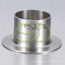 """Accesorios de tubería de acero inoxidable Extremos de punta (2-1 / 2 """"316L)"""