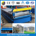 ZT Profil Rusia C21 Roof panel panel bumbung Roll Forming Machine