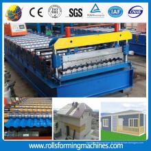 ZT Russland Profil C21 Dachplatte Wand Fliese Roll Forming Machine