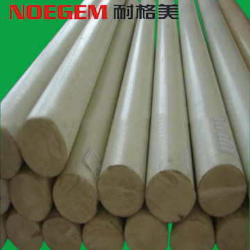 Plastic natural PEEK Round rod