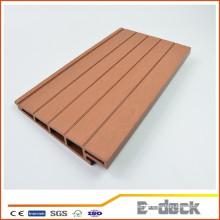 Rotproof respetuoso del medio ambiente de madera de plástico compuesto WPC pared paneles decorativos