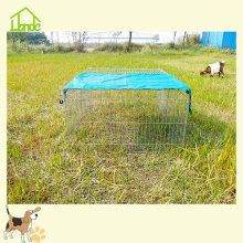 Galvanized Folding Animal Cage