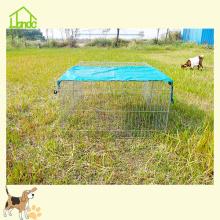 Cage animale pliante galvanisée