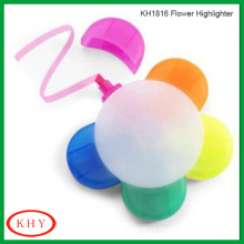 Petal Shape Highlighter Markerfor Pen with Colorful Ink