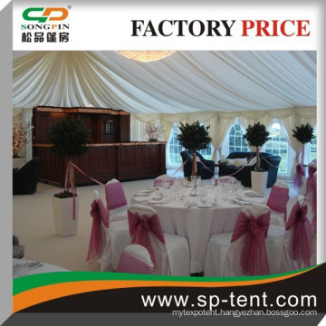 frame pvc wedding marquee 300 people tent 20x25m made of durable aluminum frame and PVC fabric for outdoor wedding party events