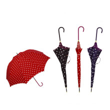 Manual Open DOT Printing Straight Umbrella (BD-41)