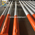 Hot-dip Galvanized Steel Street Light Pole Dengan Lengan