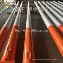 Горячей оцинковкой Производитель стальной столб открытый фонарный столб Фабрика уличного света полюса