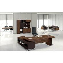 Hochwertiger moderner hölzerner Chef-Büro-Schreibtisch (HF-TWB118)