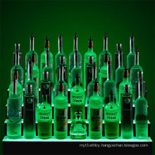 Colored Acrylic LED Display Plinth for Bars, Point of Sale Display Merchandise for Wine