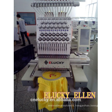 New high speed one head commercial /home-working embroidery machine