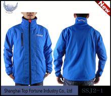 blue winter outdoor jacket boys bonded jacket
