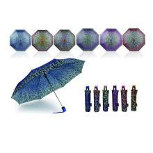 Dekorative Muster kompakte öffnen und schließen Regenschirme (YS-3FD22083971R)