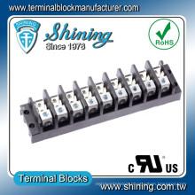 TGP-050-09A 600V 50A 9 Pole Quick Connect Aluminum Terminal Block