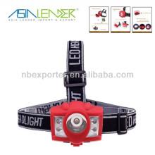 2014 nouveau design 3W + 4 LED rouge super brillant projecteur