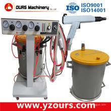 Máquina de revestimento manual a pó