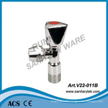 Luxury Angle Valve with 10mm Compression Nut (V22-011B)