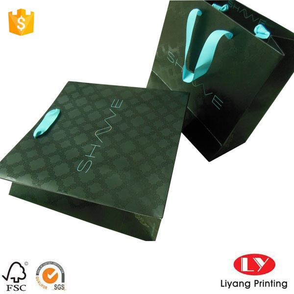 Spot Uv Jewelry Paper Bag