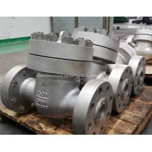 Válvula de retención de alta presión de acero inoxidable