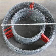 hot dip galvanized double loop razor barbed wire